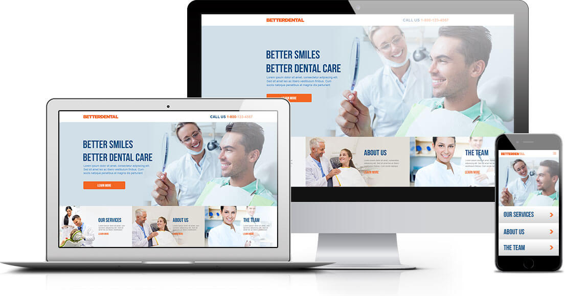 best dental website design